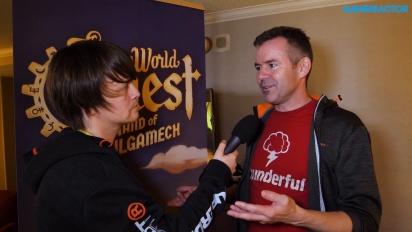 SteamWorld Quest: Hand of Gilgamech - Entrevista a Brjann Sigurgeirsson