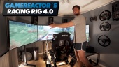 Enseñando el Motion Racing Rig de Gamereactor v4.0