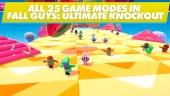 Fall Guys: Ultimate Knockout - Todos los modos de juego