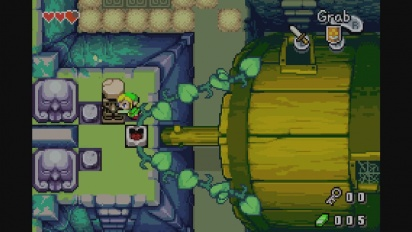 The Legend of Zelda: The Minish Cap - tráiler de lanzamiento Consola Virtual Wii U