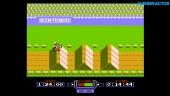 NES Mini - Gameplay de Excitebike en Resolución Original y filtro Televisor Antiguo
