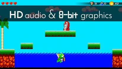 Wonder Boy III: The Dragon's Trap - The retro feature