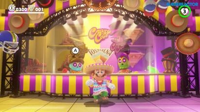 Super Mario Odyssey - Gameplay baile mexicano