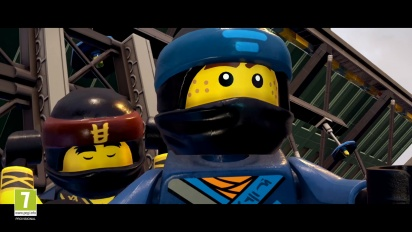 LEGO NINJAGO Movie Video Game - Announce Trailer