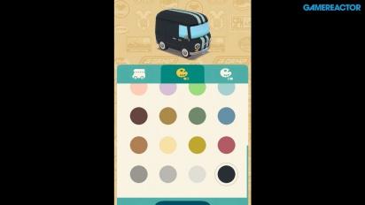 Animal Crossing: Pocket Camp - Gameplay de personalización de la caravana