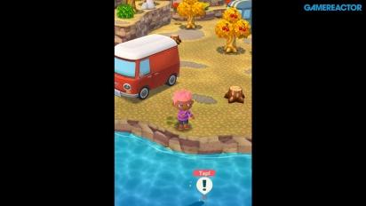 Animal Crossing: Pocket Camp - Gameplay Pesca y Recolección