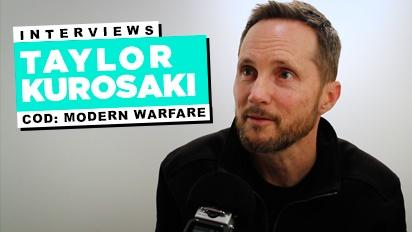 Call of Duty: Modern Warfare - Entrevista a Taylor Kurosaki