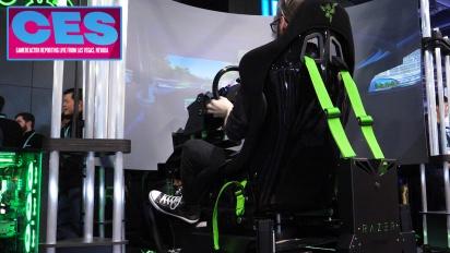 CES20 - Entrevista Razer Eracing Simulator