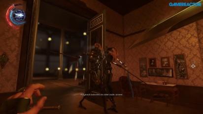 Dishonored 2 - Gameplay PC - Rescate de Corvo en la Mansión Clockwork
