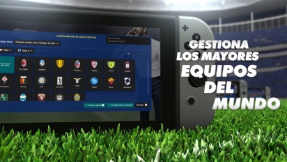 Football Manager Touch 2018 - Tráiler de lanzamiento de Nintendo Switch