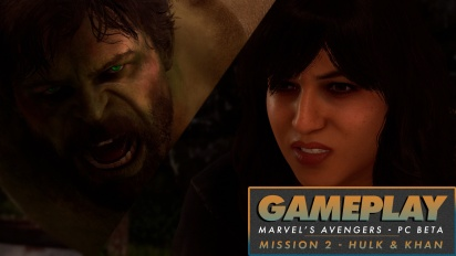 Marvel's Avengers - Gameplay de Hulk y Kamala Khan en PC Beta