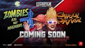 Lucasfilm Classic Games: Zombies Ate My Neighbors and Ghoul Patrol - Trailer