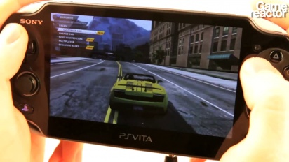 Need for Speed: Most Wanted - Vita Gameplay 1