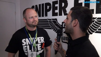 Sniper Elite 4 - Entrevista a Tim Jones