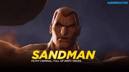 Marvel Ultimate Alliance 3: The Black Order - Gameplay vs Sandman
