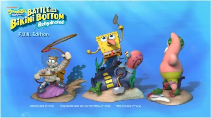 SpongeBob SquarePants: Battle for Bikini Bottom - Rehydrated - FUN Edition Trailer