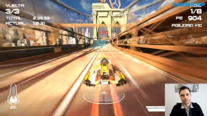 Wipeout Omega Collection - Replay del Livestream español