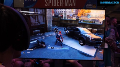 Spider-Man - Gameplay capturado en el showfloor del E3