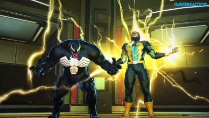 Marvel Ultimate Alliance 3: The Black Order - Gameplay vs Venom y Electro