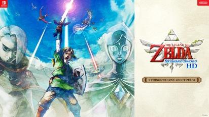 5 cosas que nos encantan de Zelda: Skyward Sword HD