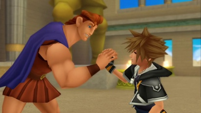Kingdom Hearts HD 2.5 Remix  - Disney Worlds Connect Trailer