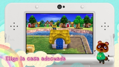 Animal Crossing: Happy Home Designer - Tráiler español de introducción