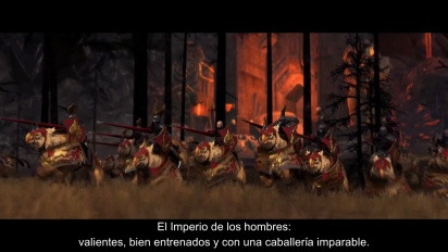 Total War: Warhammer - Tráiler español Conquista este Mundo