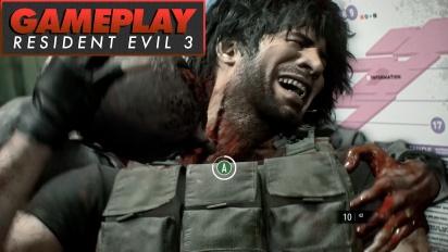 Resident Evil 3 - Momentos destacados de acción