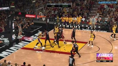 NBA 2K21 - Final Los Ángeles Lakers VS Miami Heat - Destacados de gameplay