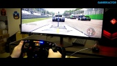 Project CARS 2 X HP OMEN X Fanatec Racing Wheel - Pilotaje ultrapanorámico