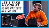 El Vistazo - Aorus RTX 2070 Gaming Box