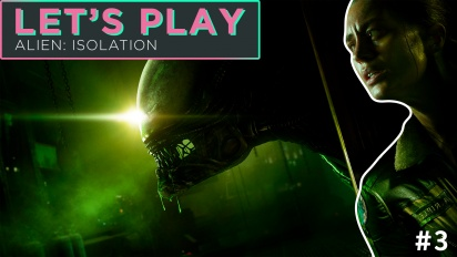 Let's Play Alien: Isolation - Episodio 3