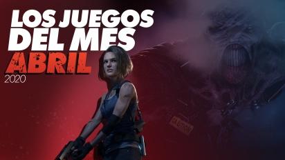 Los Juegos del Mes: Abril de 2020