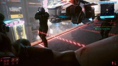 Cyberpunk 2077 - Gameplay primera misión como Nómada