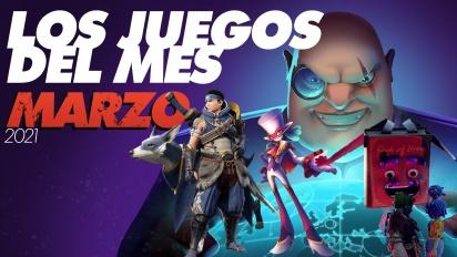 Los juegos del mes: Marzo de 2021