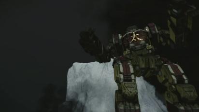 Mechwarrior Online  - Golden Boy Hero Mech Trailer