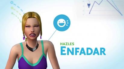 Los Sims 4 - tráiler español de gameplay 'Nuevas Emociones'