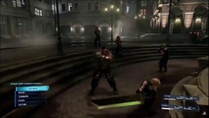 Final Fantasy VII: Remake - Gameplay trailer