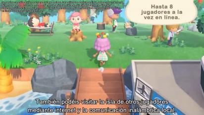 Animal Crossing: New Horizons - Tráiler español ¡Bienvenidos a la isla!