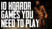 10 Juegos de Terror de la Generación que No te puedes Perder
