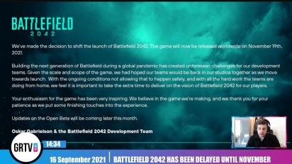 Battlefield 2042 se retrasa a noviembre