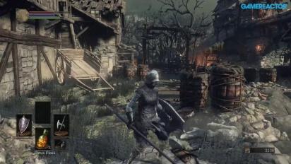 Dark Souls III - Gameplay Xbox One - Asentamiento de no muertos A