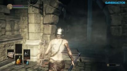 Dark Souls III - Gameplay Xbox One - Altos Muros de Lothirc A