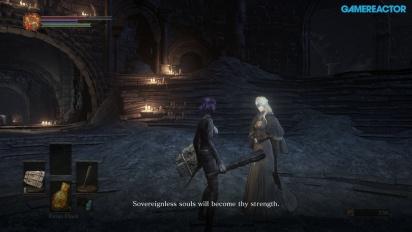 Dark Souls III - Gameplay Xbox One - Firelink Shrine