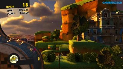 Sonic Forces - Gameplay con el personaje personalizado (Nintendo Switch)