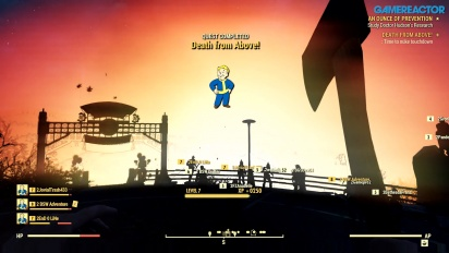 Fallout 76 - Gameplay con bomba nuclear