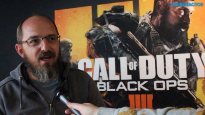 Call of Duty: Black Ops 4 - Entrevista a David Vonderhaar