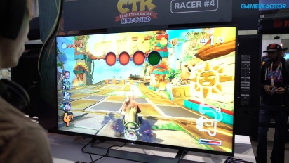 Crash Team Racing: Nitro-Fueled - Gameplay 1 de la PAX East