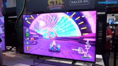 Crash Team Racing: Nitro-Fueled - Gameplay 2 de la PAX East