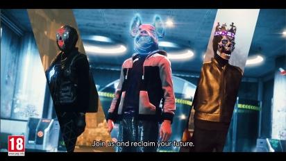 Watch Dogs: Legion - Reclaim Your Future Trailer